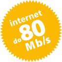 internet do 80 Mb/s